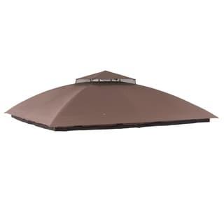 Sunjoy Replacement Canopy for Malibu Gazebo (10'X12') L-GZ215PST-B
