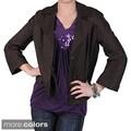 DKNY Women's Hidden Button Blazer