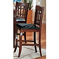 Cherry Splendor Counter Stools (Set of 2)