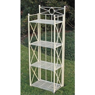 International Caravan Narrow 4-tier Indoor/ Outdoor Baker's Rack