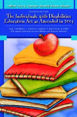 The Individuals with Disabilities Education Act as Amended in 2004 (Paperback)