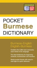 Periplus, Pocket Burmese Dictionary (Paperback)