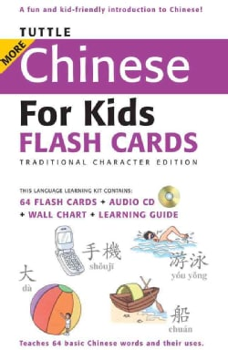 Tuttle More Chinese for Kids Flash Cards: Traditional Character Edition