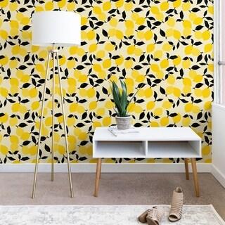 Deny Designs Lemon Garden Wallpaper