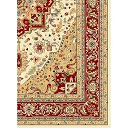 Safavieh Lyndhurst Collection Ivory Red Runner Rug 2 3 X