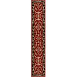 Safavieh Oriental Lyndhurst Collection Red/Black Runner (2'3