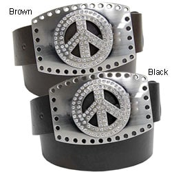 BT Changeable Buckle Women's Leather Belt