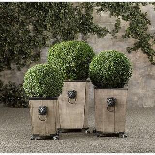 "HighlanderHome Artificial Decorative Boxwood Ball, 22""H x 22""W x 22""D - 22inch(1pc)"