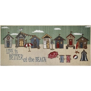 """Seaside Better at the Beach Rug - 30""""x46"""""""