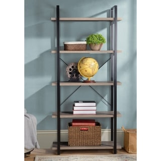5 Shelf Open Storage Bookshelf