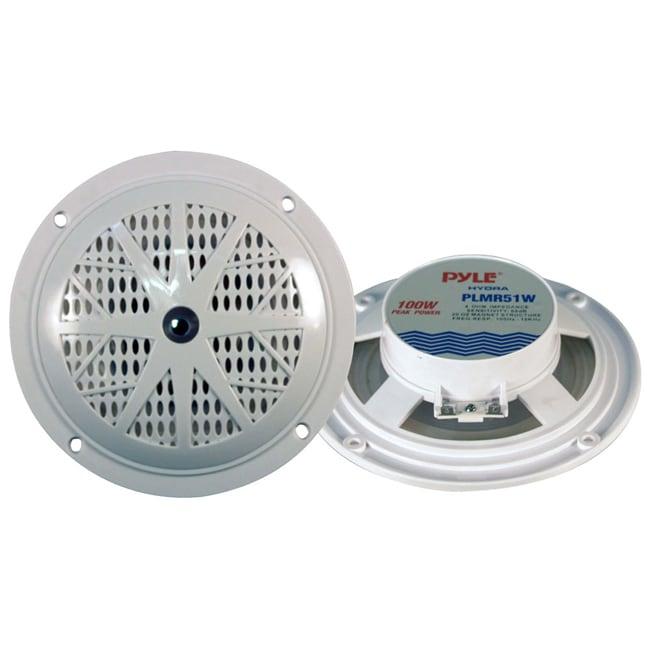 Pyle 5.25-inch Dual Cone Waterproof Speaker System