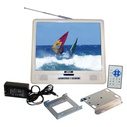 Pyle 15-inch LCD Splash-proof Monitor and TV Tuner