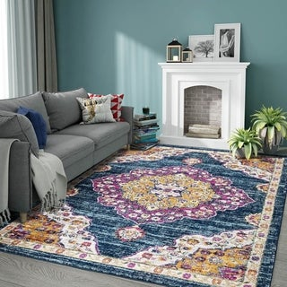 Traditional Courtyard Judi Indoor/ Outdoor Rug