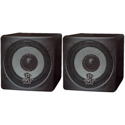 PylePro 3-inch 100-watt Mini Cube Speakers