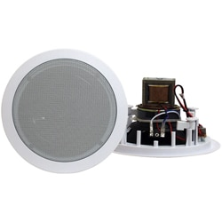 PylePro 8-inch In-ceiling Speakers and Transformer