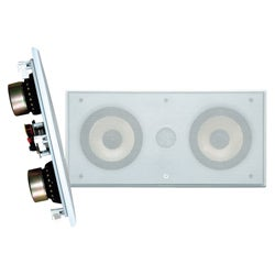 PylePro 5.25-inch Dual 2-way In-wall Speaker System