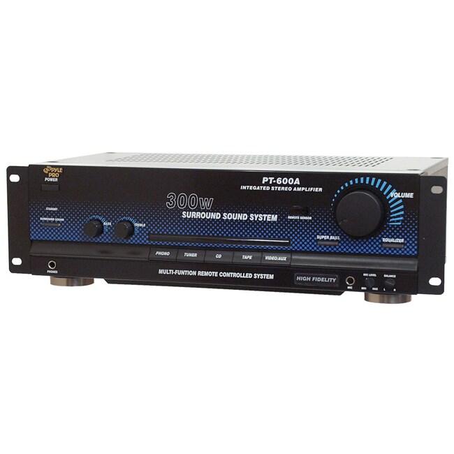 PylePro PT600A 300-watt Stereo Amplifier (Refurbished)