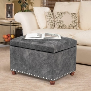 Adeco Ottoman Bench Foot Rest Stool Coffee Table with Lift Top