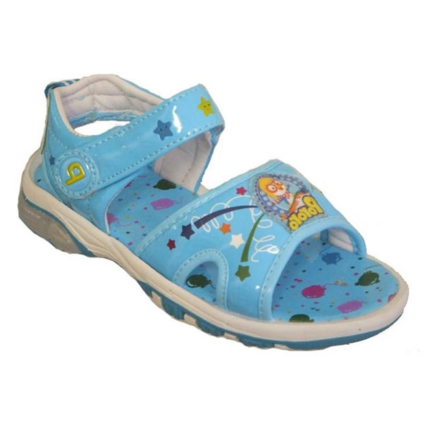 Papush Toddler Boy's Confetti Star Blue Sandals