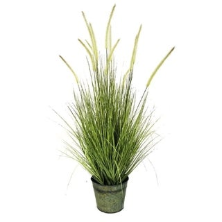 """Foxtail Grass Artificial Potted Plant 42"""""""