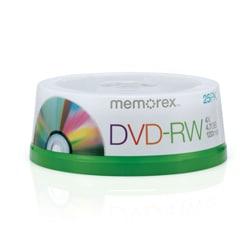 Memorex 4x DVD-RW Media