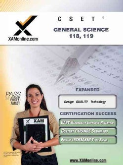 CSET General Science 118-119: Teacher Certification Exam (Paperback)