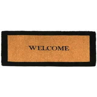 GardenPath Welcome Border 2 Doormat - 60W x 22L