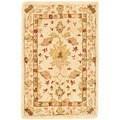 Safavieh Handmade Oushak Ivory Wool Rug (3' x 5')