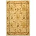 Safavieh Handmade Oushak Ivory Wool Rug (6' x 9')