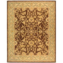 Safavieh Handmade Old World Brown/ Tan Wool Rug (9' x 12')