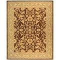 Safavieh Handmade Old World Brown/ Tan Wool Rug (8' x 10')