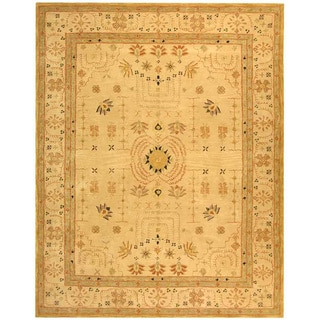 Safavieh Handmade Treasured Sand Wool Rug (8' x 10')