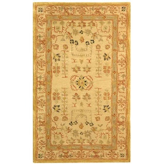 Safavieh Handmade Treasured Sand Wool Rug (3' x 5')