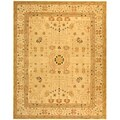 Handmade Treasured Sand Wool Rug (6' x 9')