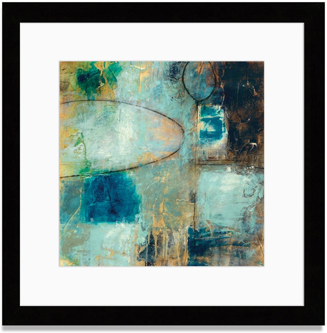 Gallery Direct Bellows 'Tangent Point I' Framed Art Print