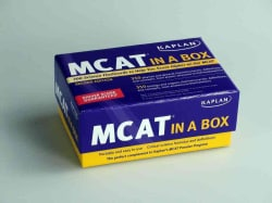 Kaplan MCAT in a Box (Cards)