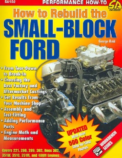 How to Rebuild the Small-Block Ford (Paperback)