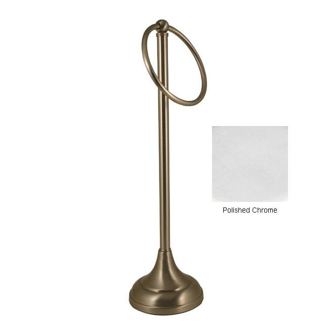 Countertop Towel Holder : Brass Countertop Guest Towel Holder - 11235934 - Overstock.com ...