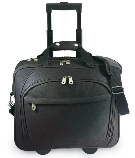 G Pacific by Traveler's Choice 15.5-inch Rolling Laptop Briefcase