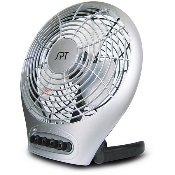 SPT Desktop Portable/ Foldable Fan with Ionizer
