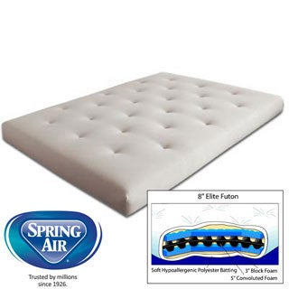 Twin 9-inch Elite Futon Mattress