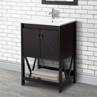 24-inch Farmhouse Bathroom Vanity Set