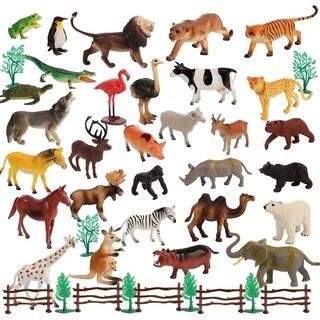 Migration 50 Piece Set of Animal 6 Inch Plastic Figures