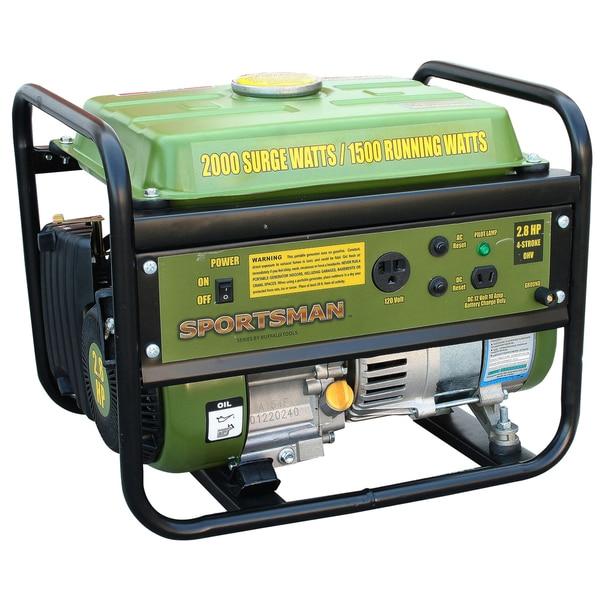 Portable 2000-watt Generator