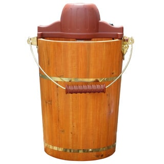 Old Fashioned 6-quart Ice Cream Maker