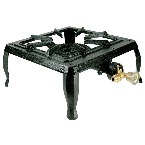 Buffalo Tools Single Burner Portable Cast Iron Stove