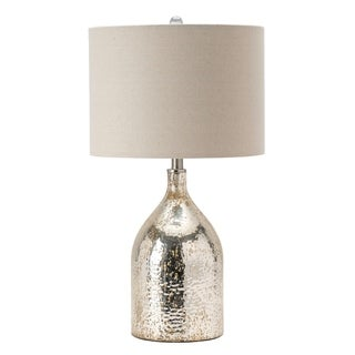 "Leo 27.5"" Glass/Metal Table Lamp"