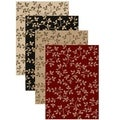 Olefin Virginia Floral Rug (3&#39;3 x 4&#39;11)