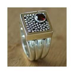 Garnet 'Combination' Ring (Indonesia)