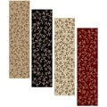 Olefin Virginia Floral Runner Rug (2&#39;2 x 7&#39;7)